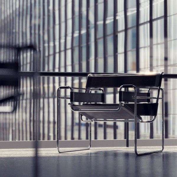 Furniture - Chair - Wassily - Marcel Breuer