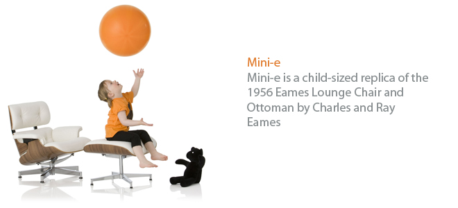 Child-sized-Furniture - Chair - Ottoman - Charles - Ray Eames