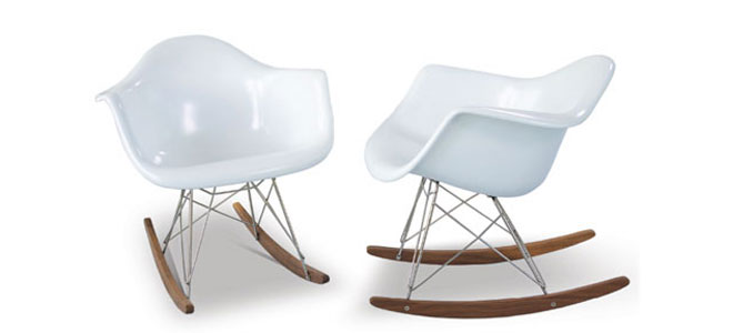 Furniture - Chair - Rar Rocking - Eames